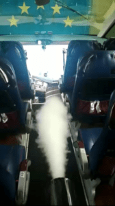 suhoj tuman v salone avtobusa